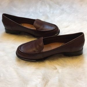 951cb269e24 Hush Puppies Shoes - Hush Puppies Blondelle Dark Brown Leather Loafers